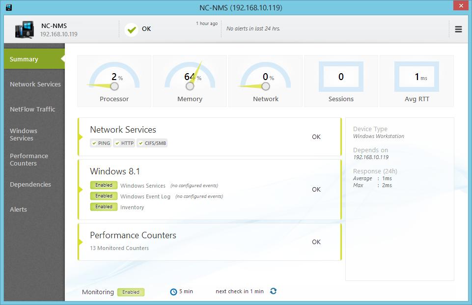 NetCrunch full screenshot